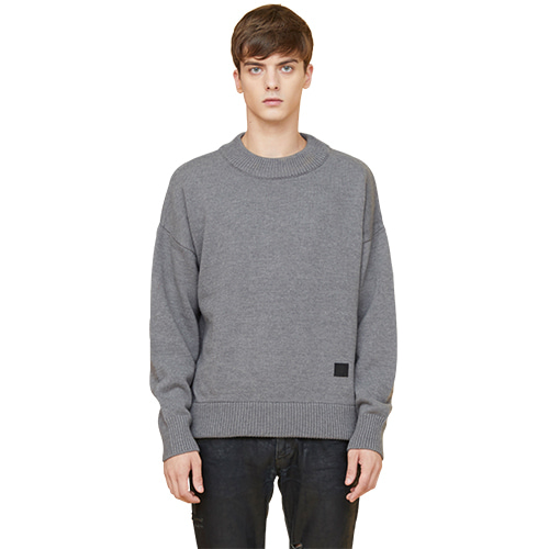 snuggle sweater - gray