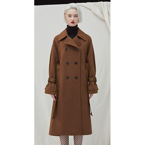 Gemini Coat - Brown