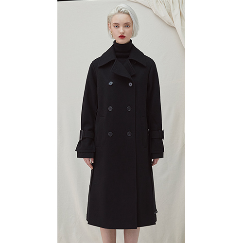 Gemini Coat - Black