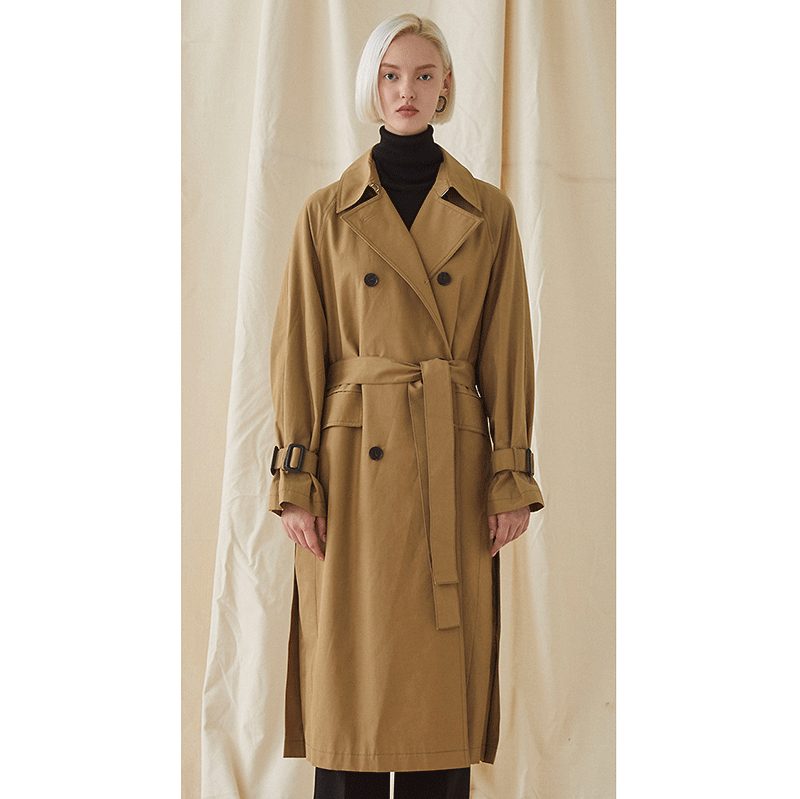 Blank Trench Coat - beige