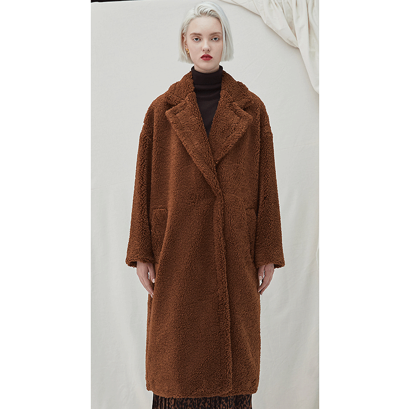Snuggle Teddy Coat - Brown