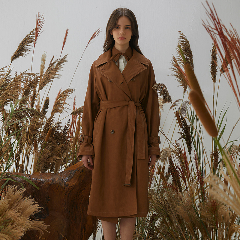 [임수향 착용]Malen Coat - Brown
