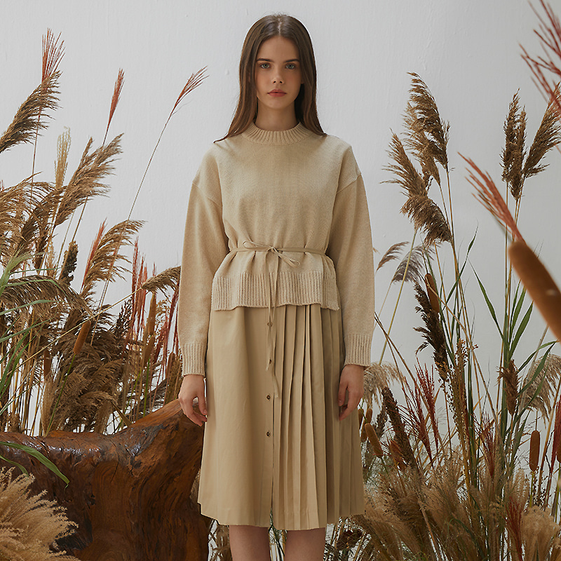 Layer Saison Dress - Beige