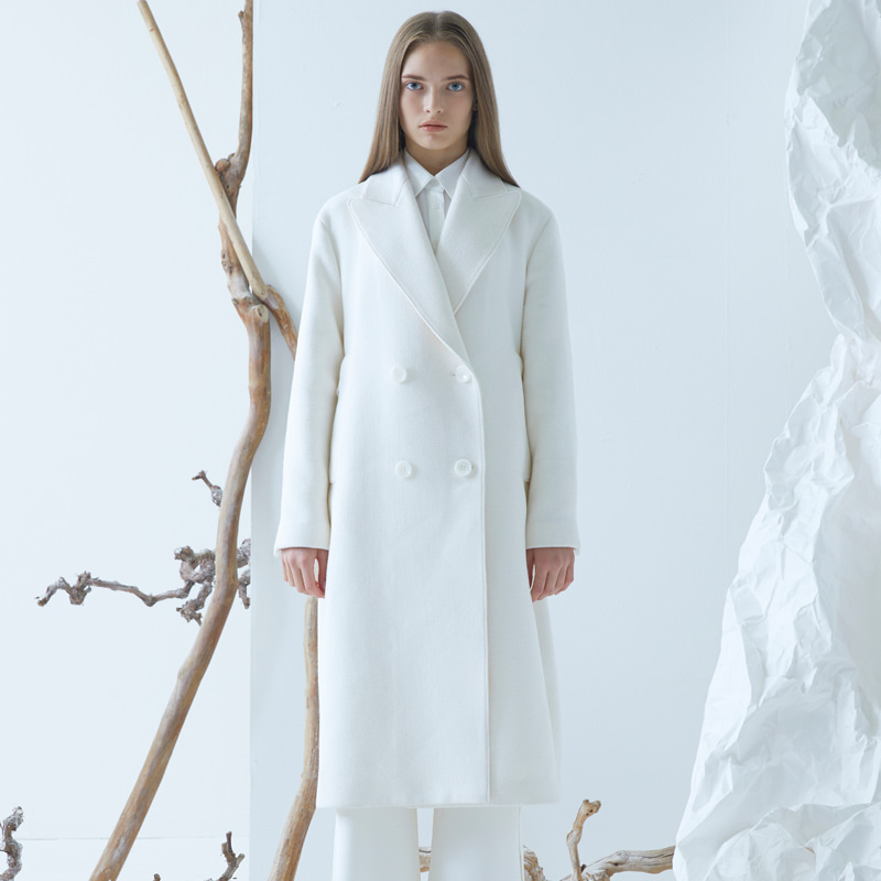 Mazen Coat - White