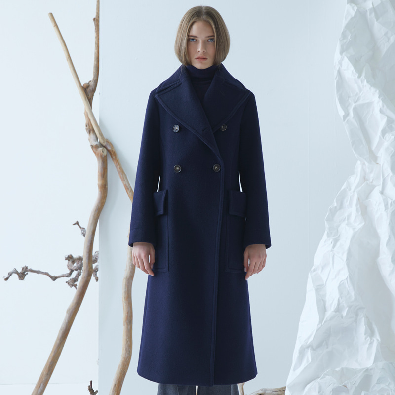 Clea Coat - Navy
