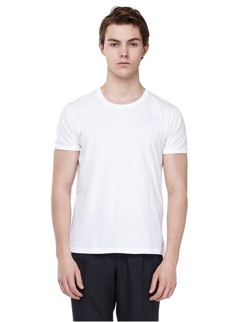 Guy fit t-shirts - White