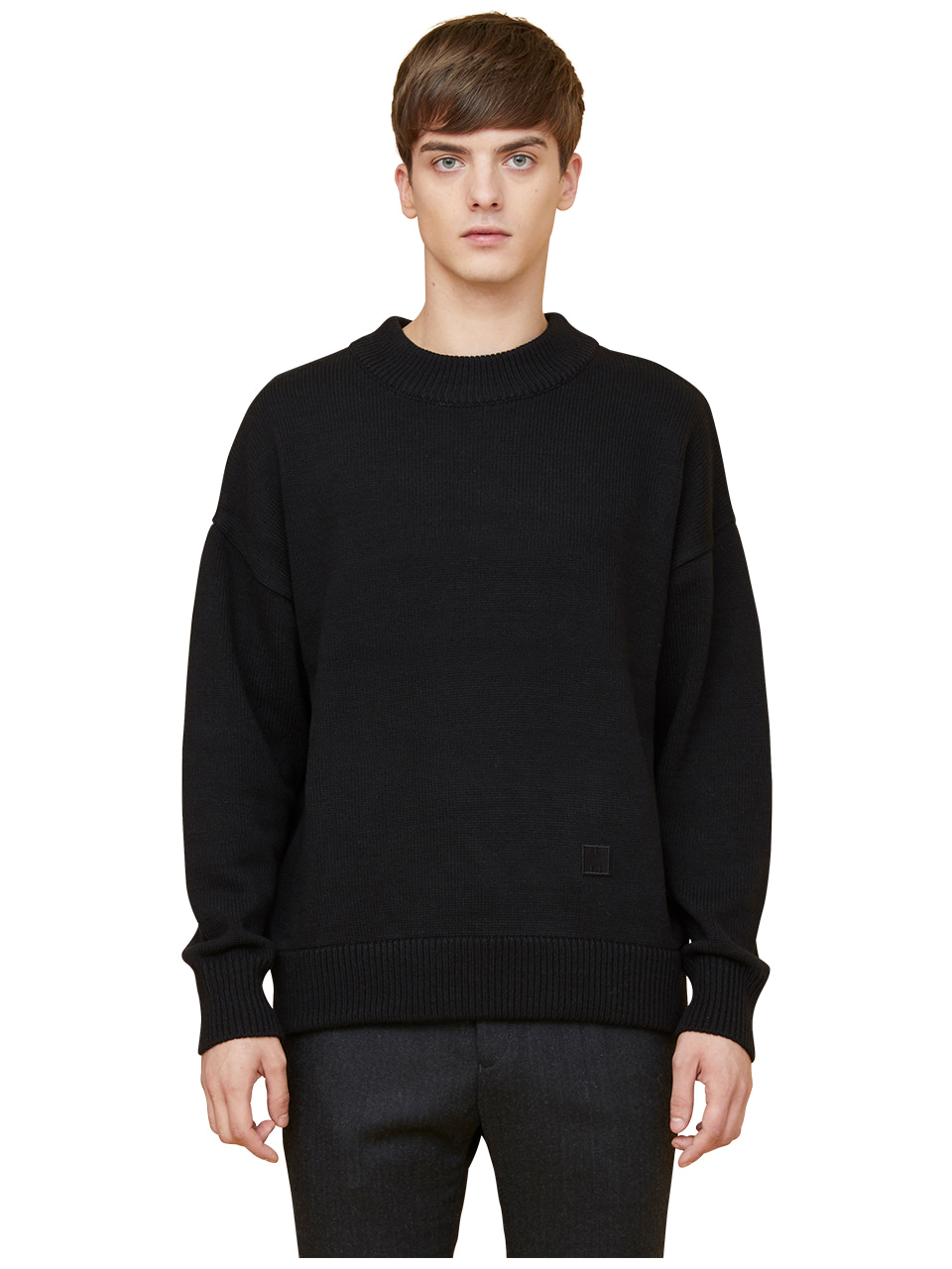 snuggle sweater - black