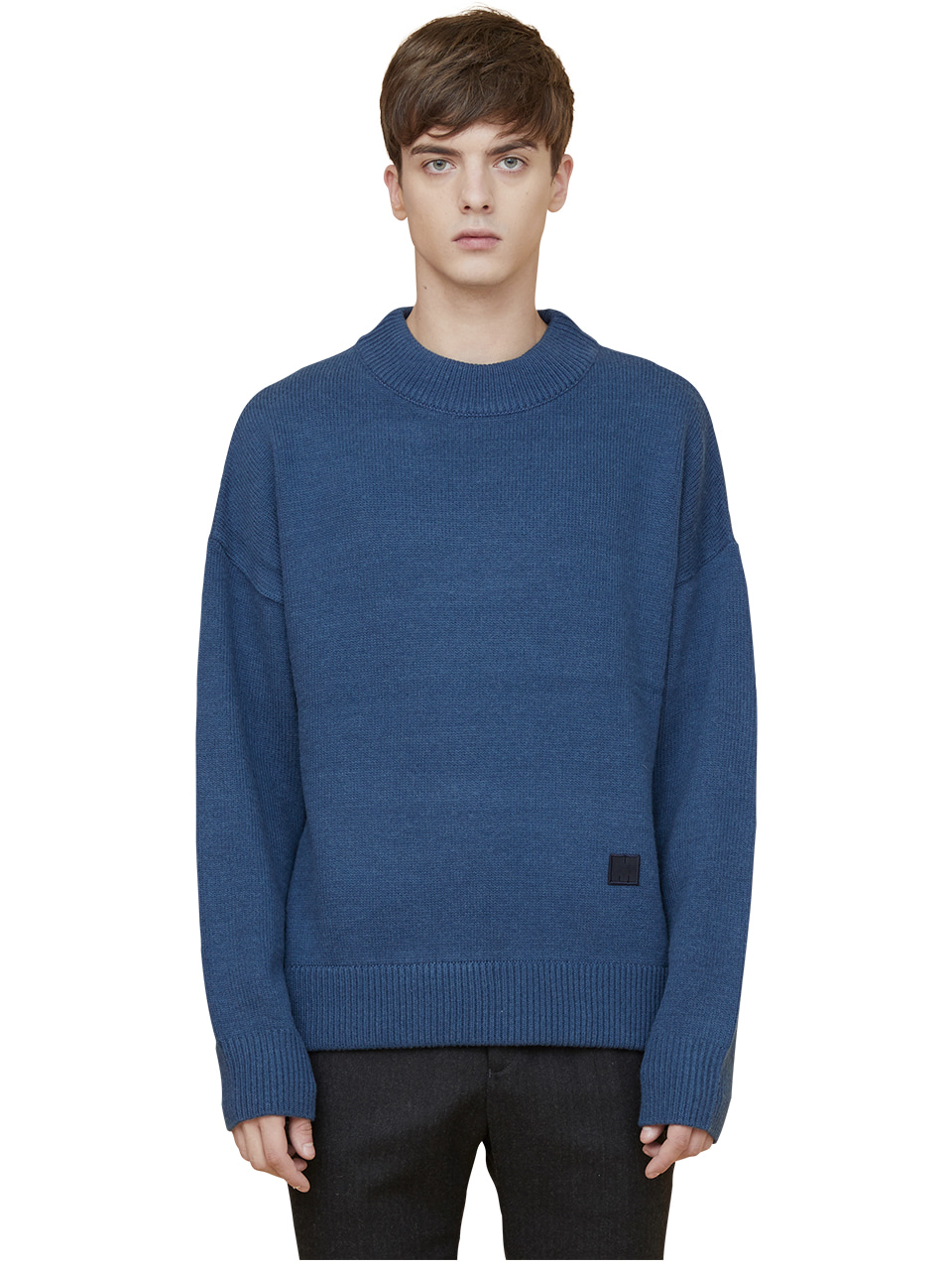 snuggle sweater - blue