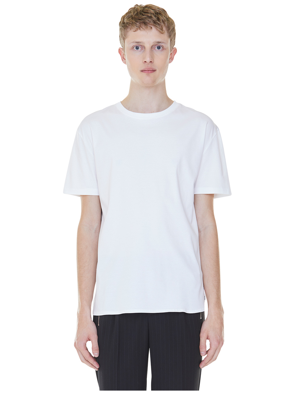 back stripes t-shirts - white