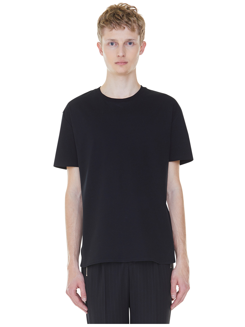 back stripes t-shirts - black