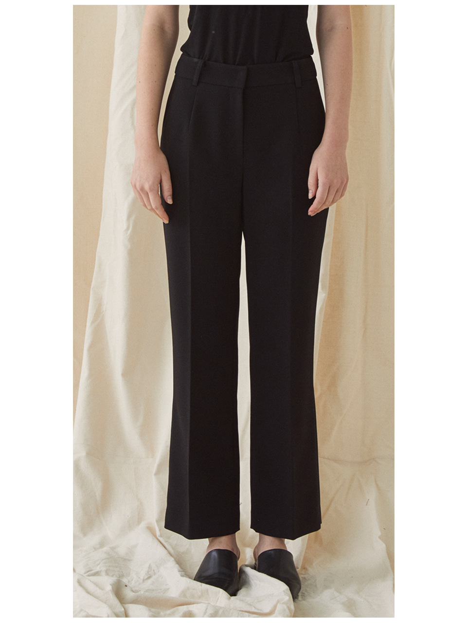 Slim Standard Trousers - black