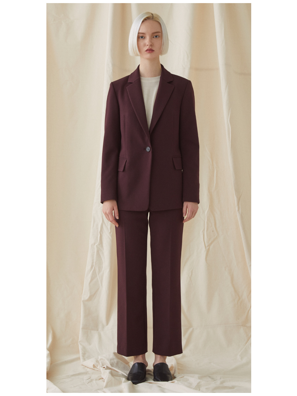 [SET]Basic Suit - Wine
