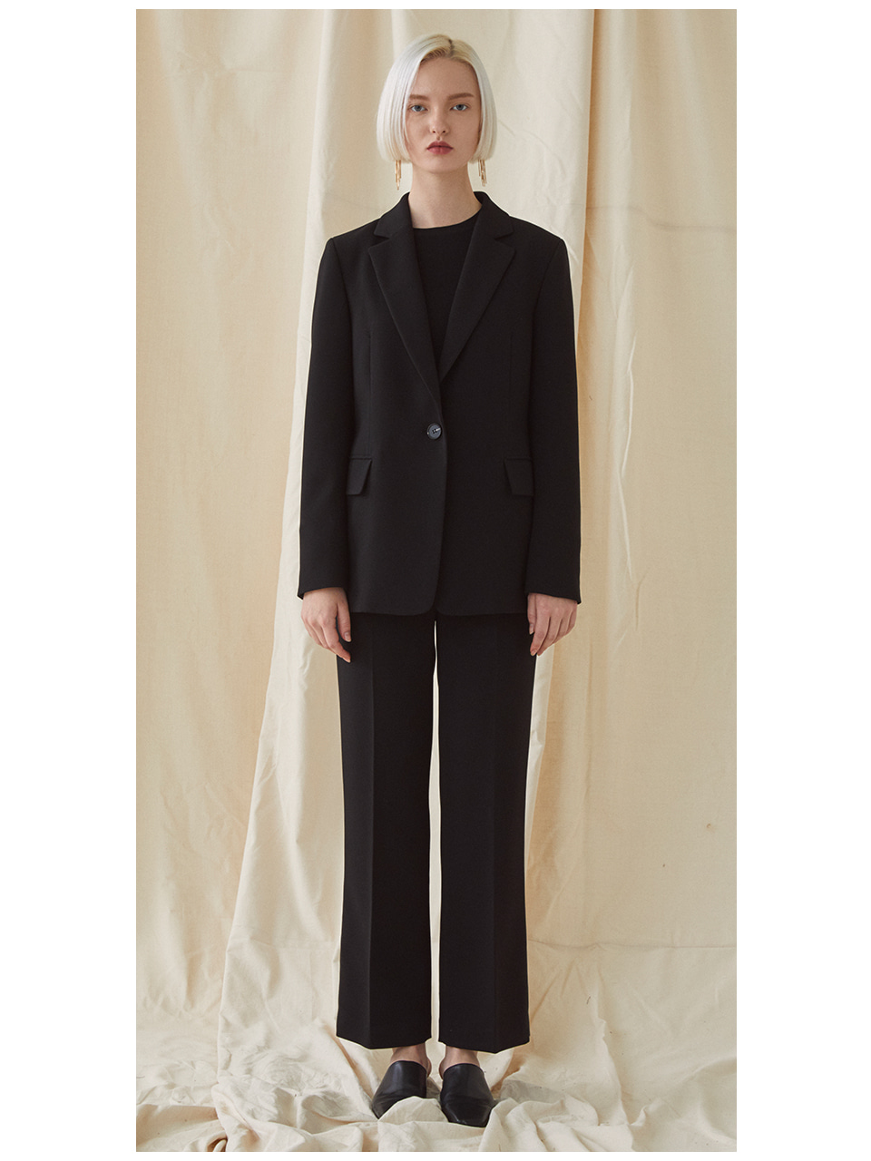 [SET]Basic Suit - Black