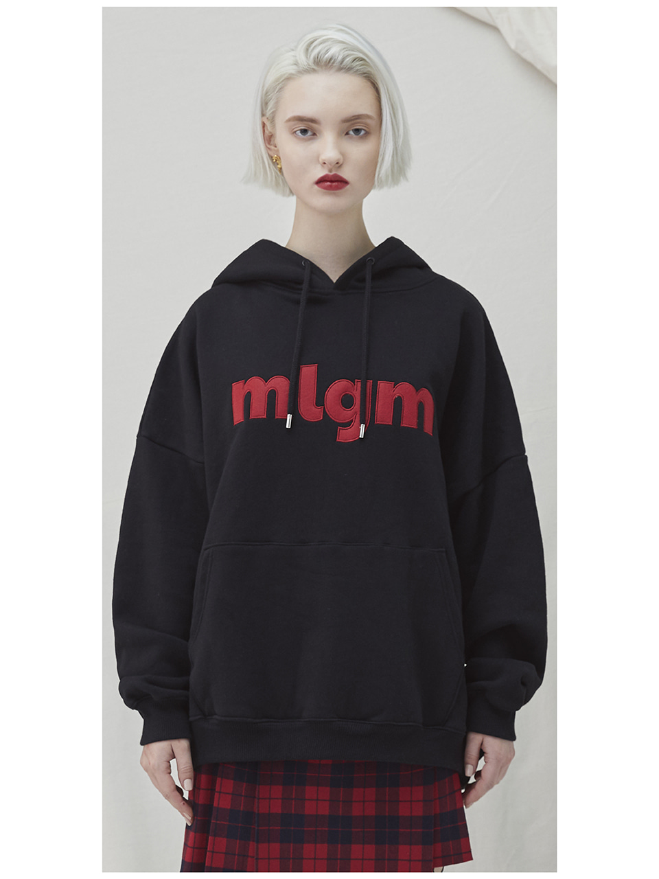 MLGM Napping Hoody - black
