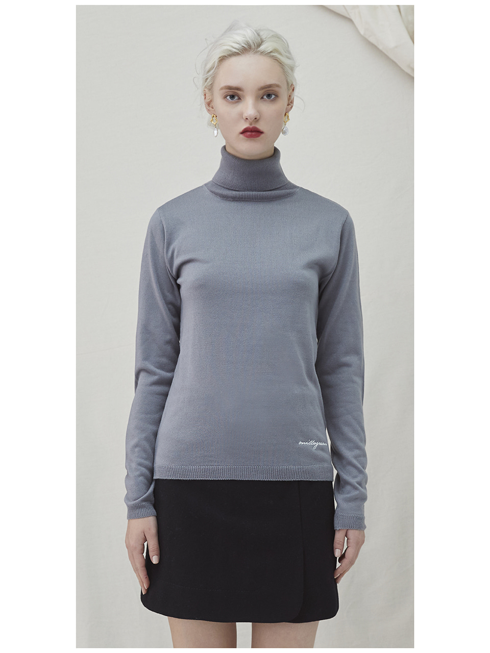 Embo Turtleneck - gray