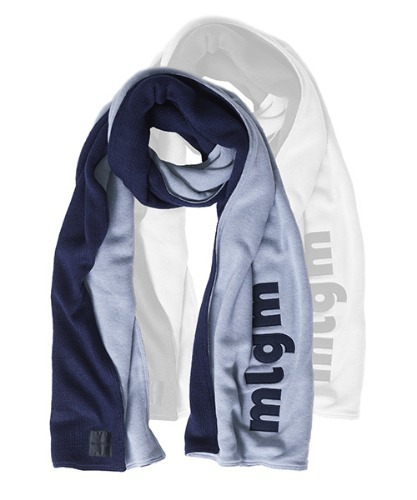 MLGM Gemini Muffler - Light Gray