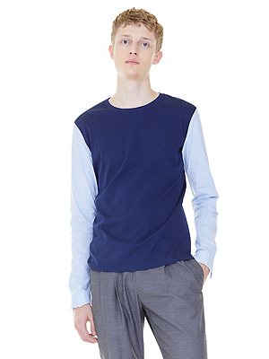 shirts sleeves t-shirts - navy