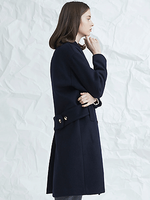 blume coat - navy