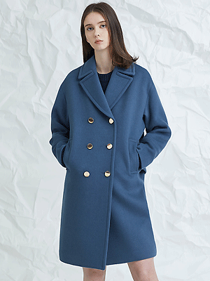 blume coat - blue