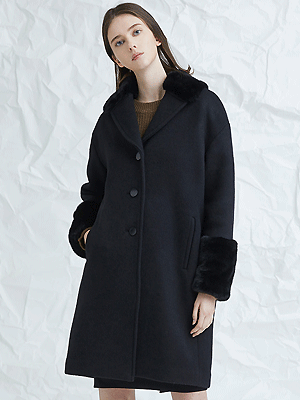 pida single coat - black