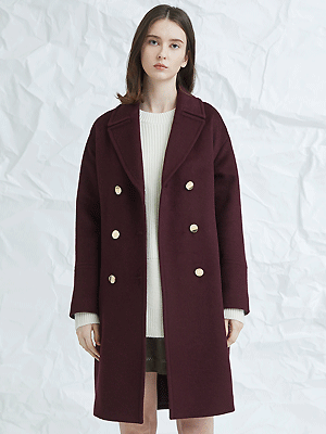 blume coat - wine