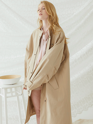 Trunk Fishtail Jacket - Beige
