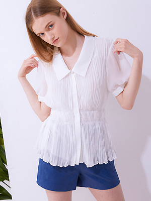 Wincle Blouse - Ivory