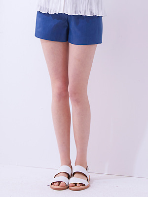 Pearl Shining Shorts - Blue