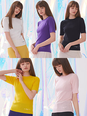 Voet Round Neck Knit 1+1