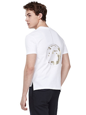 Mirror ball T-shirts - men