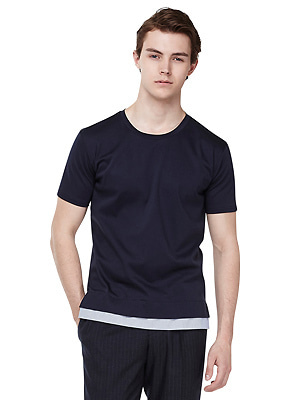 Layered shirts t-shirt - men