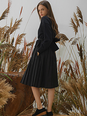 Layer Saison Dress - Black