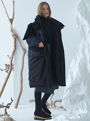 Avenue Down Coat - Black
