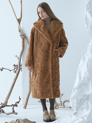 Cuddle Teddy Coat - Brown