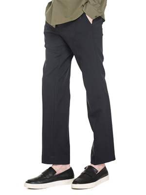 Ficeler Slim Straight Pants - Navy