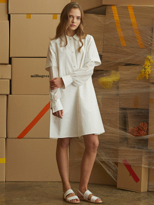 Orsay Dress - White