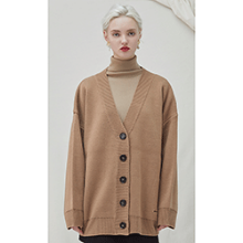 Trunk Heavy Cardigan - beige