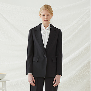 Mocco Single Blazer - Black