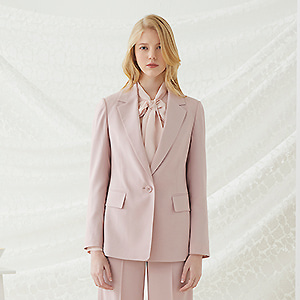 Mocco Single Blazer - Pink