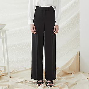 Mocco Wide Pants - Black