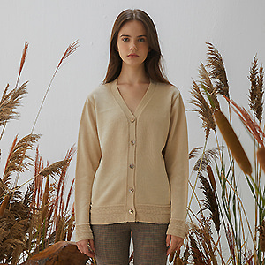 Twidy Cardigan - Light Beige