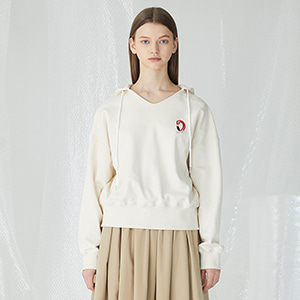 In The Field Hoodie - Cream