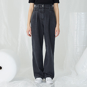 Duae Denim Pants - Gray